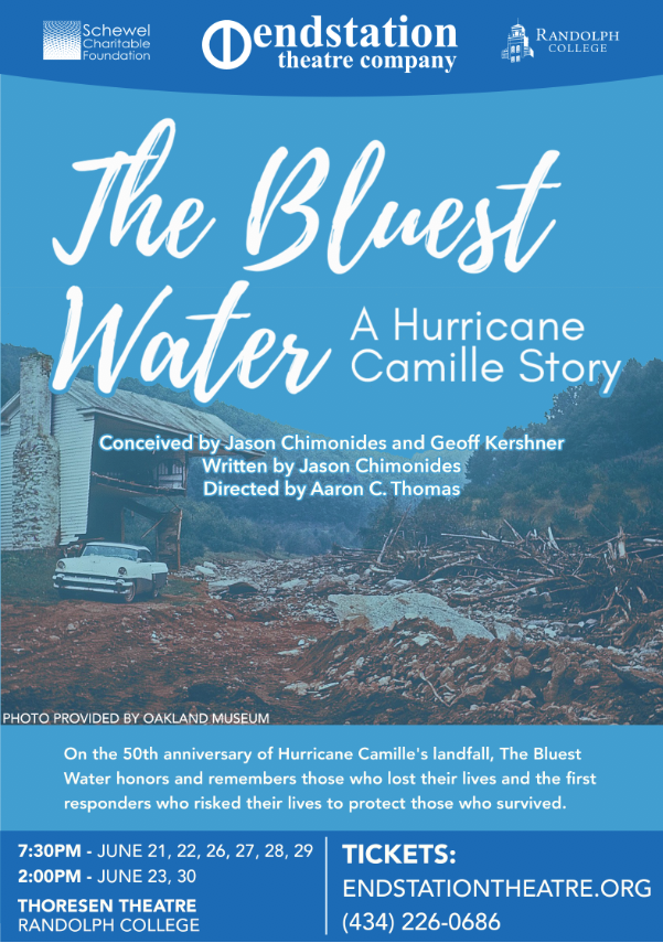 The Bluest Water: A  Hurricane Camille Story
